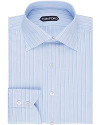 Tom Ford - Striped Shirt - Lyst