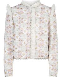 Giambattista Valli - Embroidered Lace Jacket - Lyst