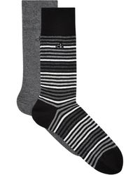 CALVIN KLEIN 205W39NYC - Spotted Cotton Blend Socks - Lyst