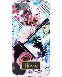 Harrods - Geo Floral Iphone 7 Case - Lyst
