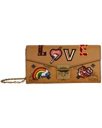 MCM - Patricia Love Patch Wallet - Lyst