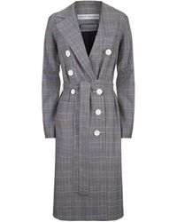 Robert Rodriguez - Double-breasted Check Jacket - Lyst