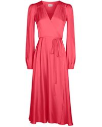MILLY - Gina Midi Dress - Lyst