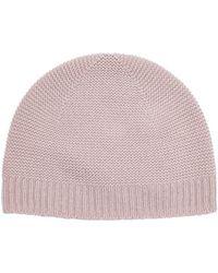 Harrods - Cashmere Knit Hat - Lyst