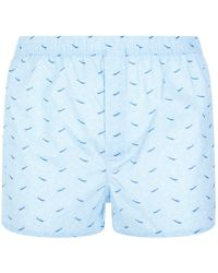 Derek Rose - Wave Pattern Boxer Shorts - Lyst
