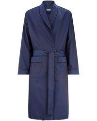 Zimmerli - Cotton Geometric Robe - Lyst