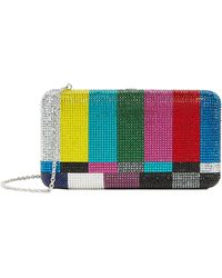 Judith Leiber - Smooth Rectangle Test Screen Clutch - Lyst