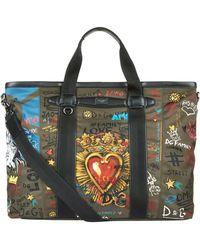 Dolce & Gabbana - Mediterraneo Printed Holdall - Lyst