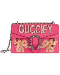 Gucci - Dionysus Leather Shoulder Bag - Lyst