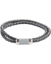 Tateossian - Leather Wrap Bracelet - Lyst