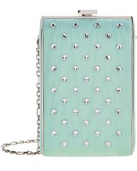 Alessandra Rich - Crystal Embellished Camera Bag - Lyst