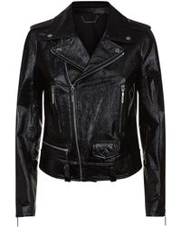 Elie Tahari - Jacalyn Leather Jacket - Lyst