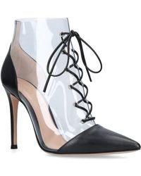 Gianvito Rossi - Icon Stiletto Ankle Boots 105 - Lyst