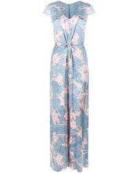 Armani - Floral Jumpsuit - Lyst