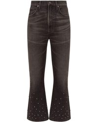 Citizens of Humanity - Estella High-rise Ankle Flare Jeans - Lyst