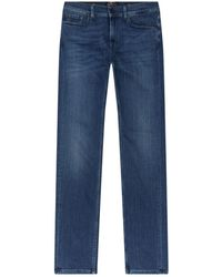 7 For All Mankind - Ronnie Tapered Luxe Performance Plus Jeans - Lyst