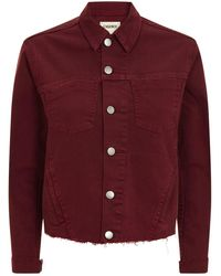 L'Agence - Janelle Cropped Jacket - Lyst