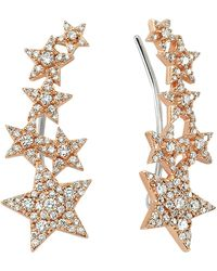Bee Goddess - Star Light Diamond Ear Cuffs - Lyst