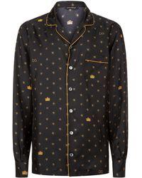 Dolce & Gabbana - Star Pyjama Top - Lyst