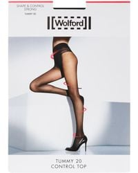 Wolford - Tummy 20 Control Top Tights - Lyst