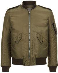 Saint Laurent - Traditional Bomber Jacket - Lyst