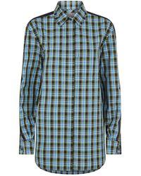 Burberry - Haymarket Check Stripe Shirt - Lyst