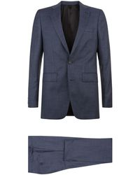 Burberry - Wool Two-piece Suit - Lyst