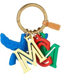 MCM - Logo Lettering Charm - Lyst