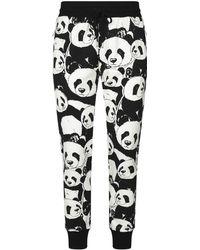 Dolce & Gabbana - Panda Joggers - Lyst
