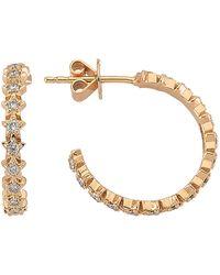 Bee Goddess - Sirius Star Light Diamond Earrings - Lyst