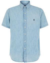 Polo Ralph Lauren - Chambray Shirt - Lyst