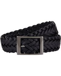 Harrods - Braided Belt - Lyst