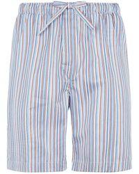 Derek Rose - Striped Lounge Shorts - Lyst