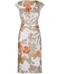 Paule Ka - Jacquard Sheath Dress - Lyst