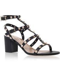 Valentino Rockstud Leather 60mm Sandals