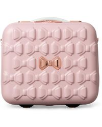 Ted Baker - Evlina Bow Detail Vanity Case - Lyst