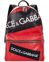 Dolce & Gabbana - Patches Backpack - Lyst