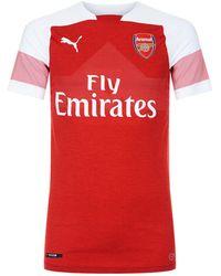 PUMA - Arsenal Fc Home Jersey Top - Lyst
