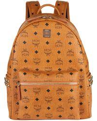 MCM - Semi-medium Studded Stark Backpack - Lyst