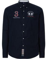 La Martina - Maserati Poplin Shirt - Lyst