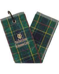 Harrods - St Andrews Links Tartan Golf Towel - Lyst