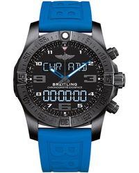 Breitling - Titanium Exospace B55 Watch 46mm - Lyst