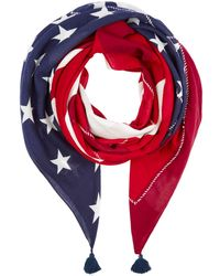 Polo Ralph Lauren - Polo Patch Flag Scarf - Lyst