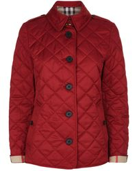 Burberry - Frankby Diamond Quilted Jacket - Lyst