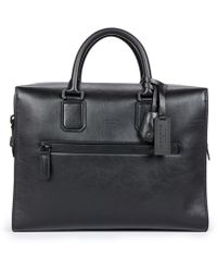 Harry's Of London - Satin Leather Eaton Briefcase - Lyst