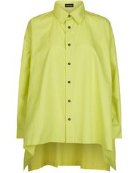 Eskandar - High-low Hem Shirt - Lyst