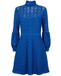 Claudie Pierlot - Long Sleeve Lace Dress - Lyst