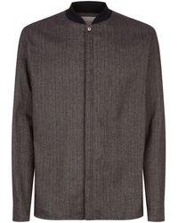 Stephan Schneider - Woven Jersey Collar Shirt - Lyst