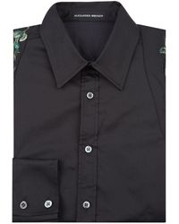 Alexander McQueen - Embroidered Harness Formal Shirt - Lyst