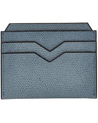 Valextra - Leather Card Holder - Lyst